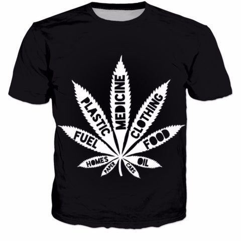 Hemp Uses T Shirt