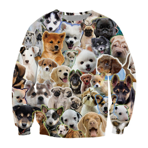 Puppies Sweatshirt