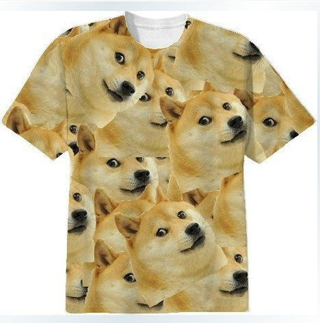 Doge T-shirt close up
