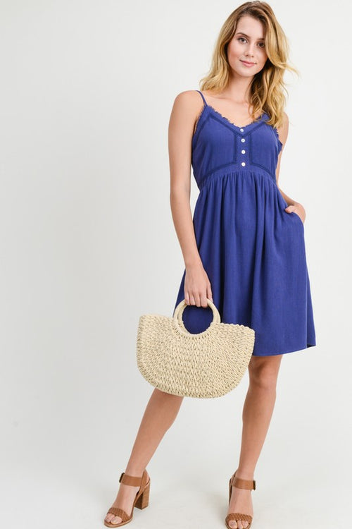 Little Navy Summer Dress