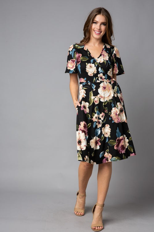 All of Our Days Floral Dress