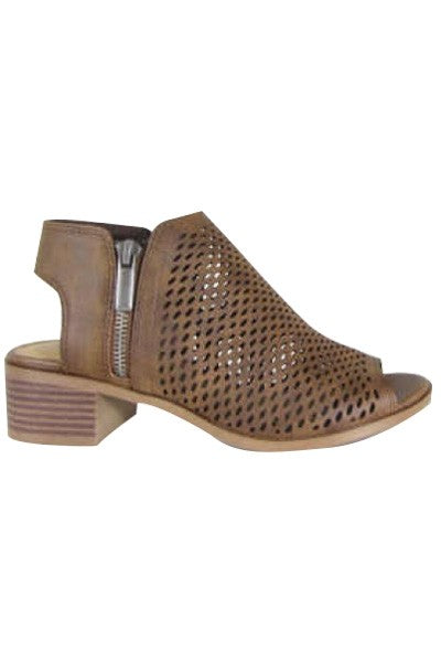Sawyer Brown Open Toe Bootie