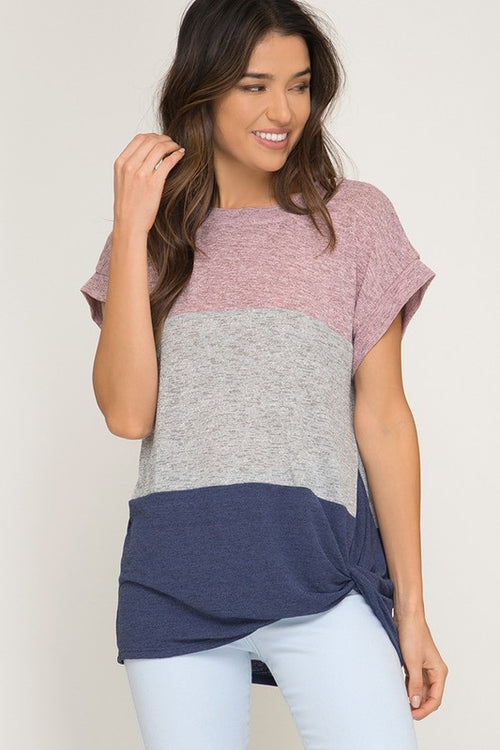 Crazy for Colorblocks Top