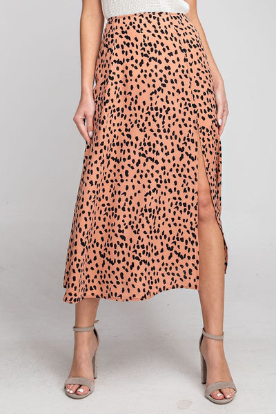 Rosewood Animal Printed Skirt
