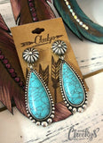 Abigail Turquoise Stone Earrings