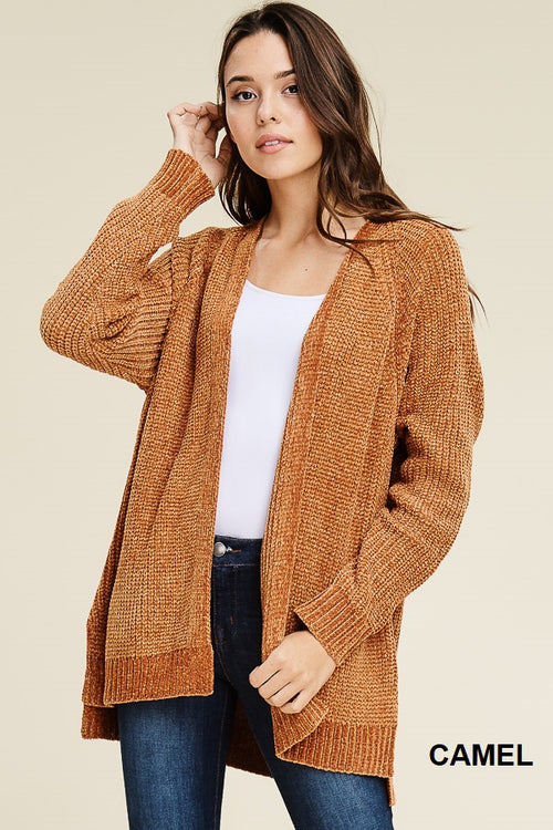 Camel Comfy Sweater