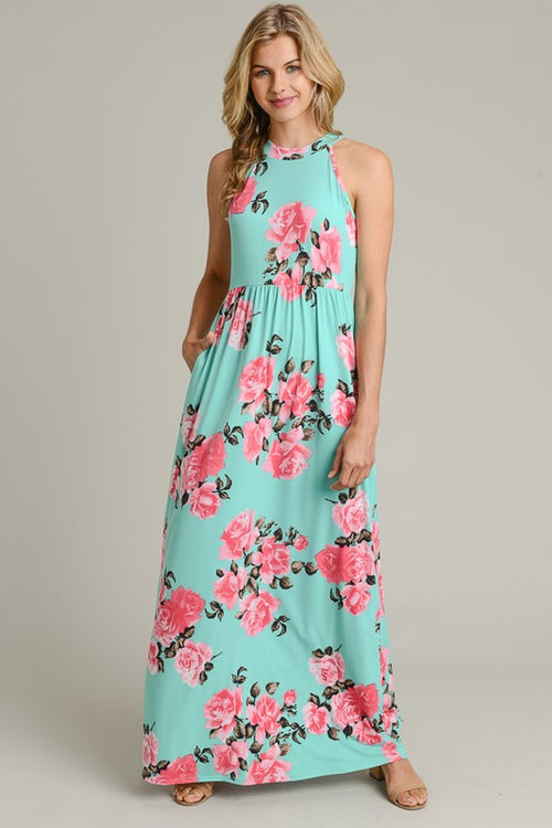Mint for You Maxi Dress