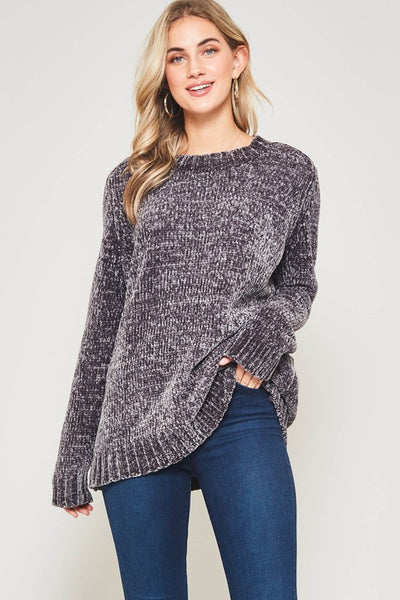 Charcoal Super Soft Sweater