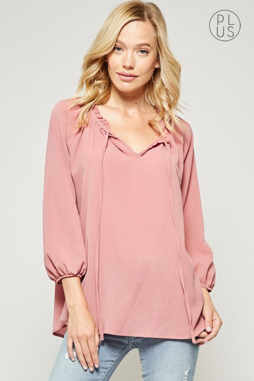 Mauve Favorite Top
