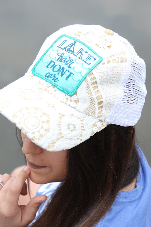 Lake Hair Don't Care Lace Hat