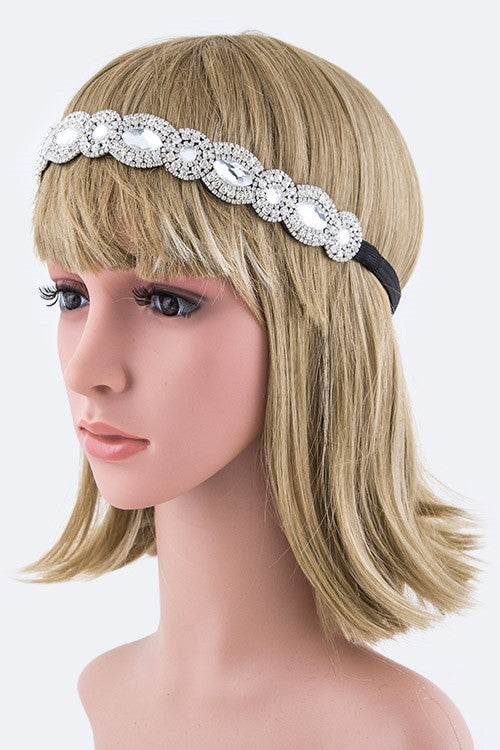 Mix Crystal Stretch Headband
