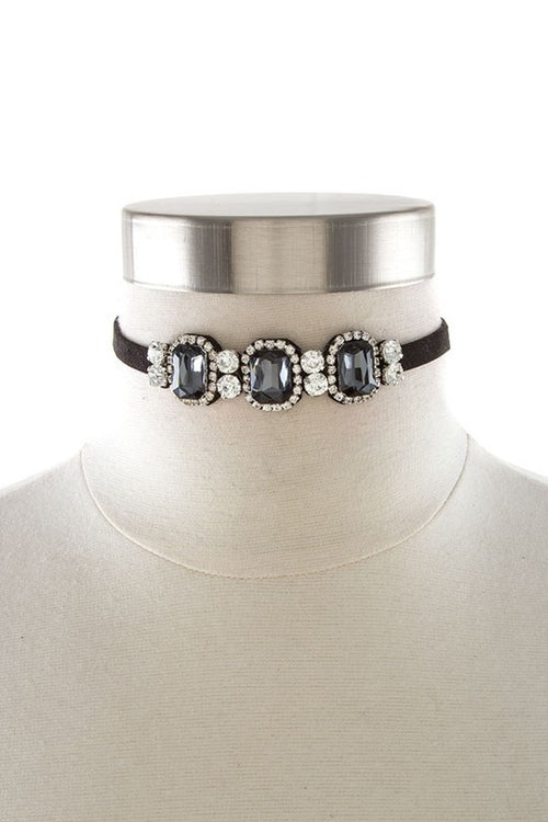 Stone Choker Necklace