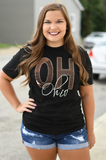 Ohio Cow Hide State Tee