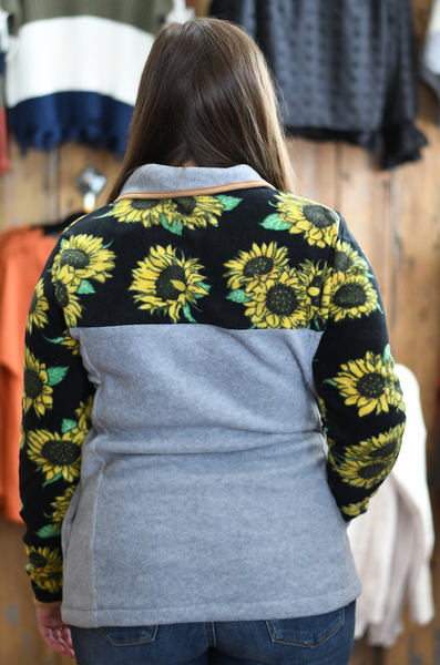 Simply Southern Sunflower Pullover