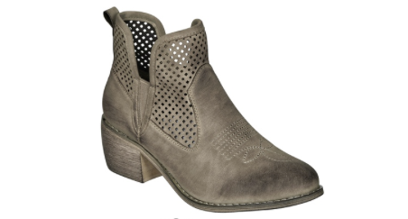 Taupe Remy Bootie
