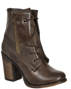 Brown Raven Bootie
