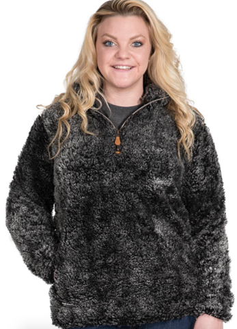Simply Southern Steel Sherpa Quarter Zip