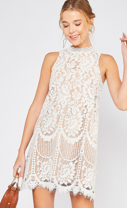 Enchanted Dreams Lace Dress