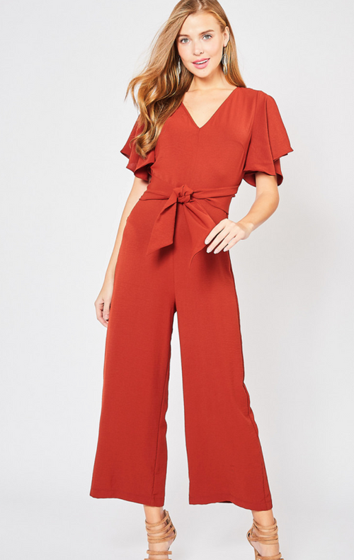 Ruby Rust Jumpsuit
