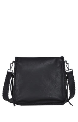 Black Medium Cross Body Purse