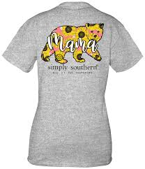 Simply Southern Floral Mama Bear