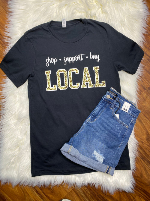 Shop Support Buy Local Tee