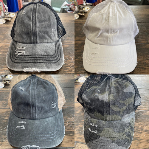 CC Crossed Pony Cap