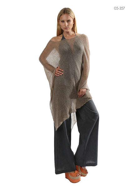 Light weight sheer poncho