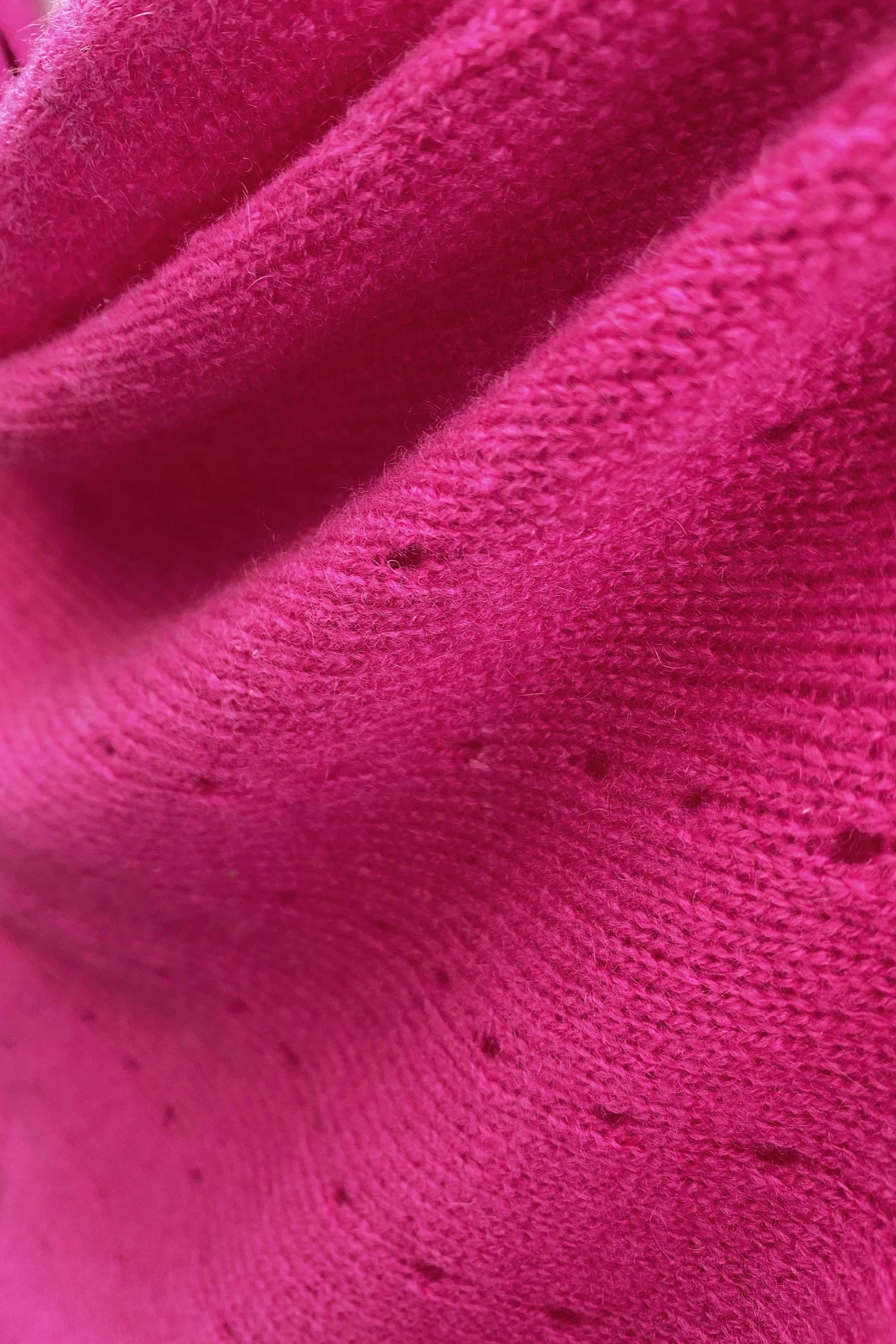 Cerise pink Cashmere Poncho UK Women damen Wrap Cape Shawls Scarf shawl cardigan light weight poncho ladies small button poncho sweater sale anniversary gift wedding present| SEMON Cashmere