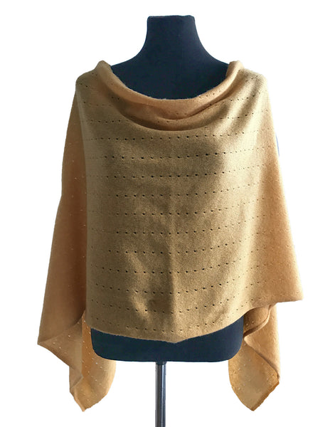 Yellow Cashmere Poncho UK, lemon Women Wrap, Cape, Shawls, Scarf, shawl, cardigan, light weight, summer poncho, ladies small button poncho sweater sale | SEMON Cashmere