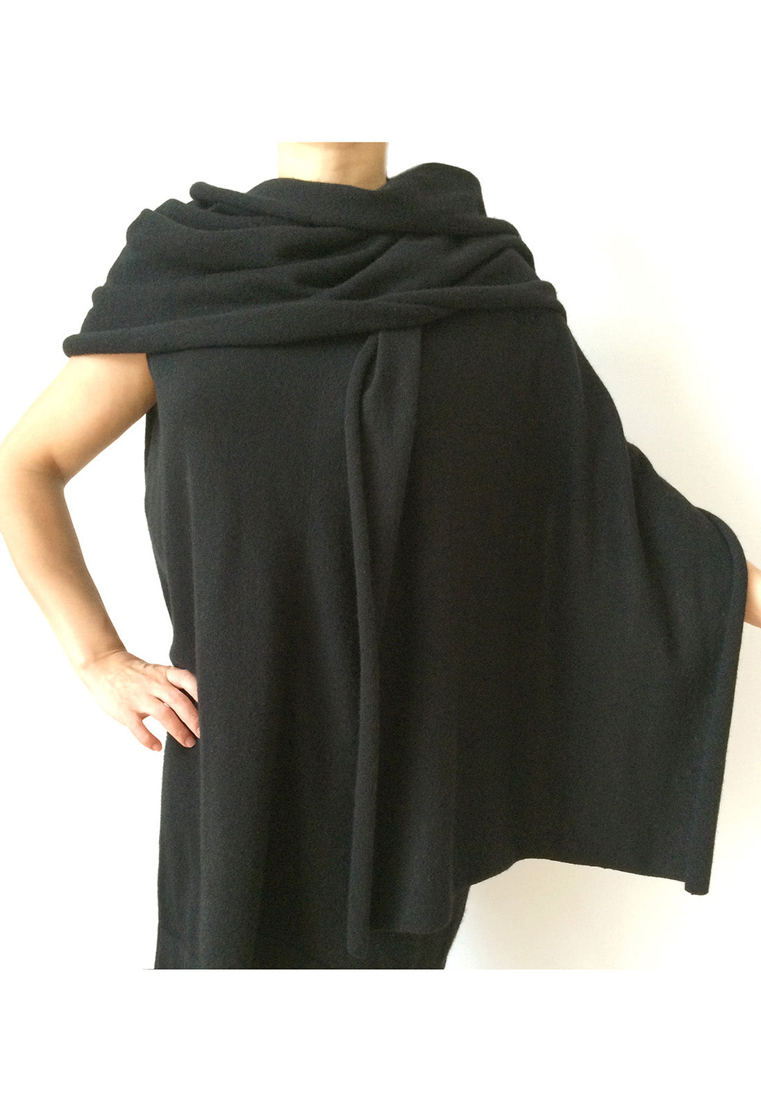 Large plain scarf shawl