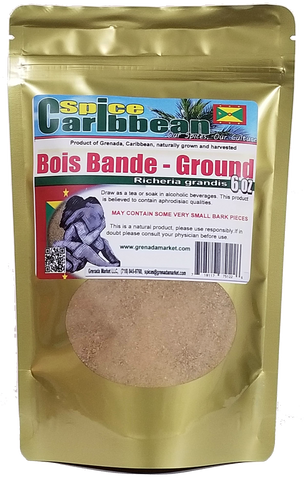 BOIS BANDE - GROUND (6 Oz in resealable pouch Grenada)