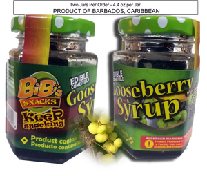 Gooseberry Syrup - Product of Barbados
