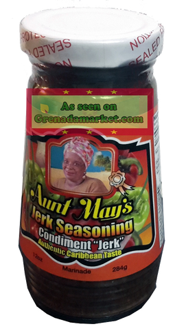 Aunt May's Jerk Seasoning - 12oz (Product of Barbados)
