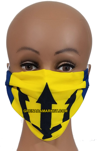Caribbean Style Face Mask - Barbados