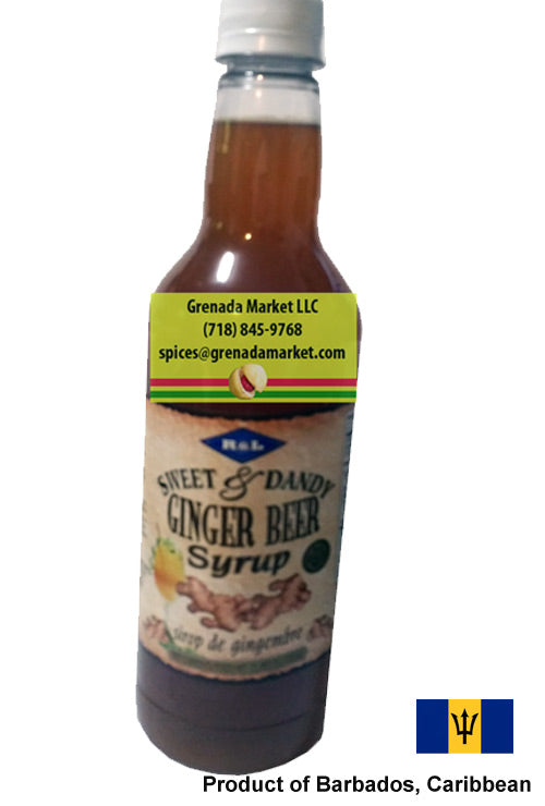 "R&L ""Sweet & Dandy"" Mauby Syrup - 750ml, Barbados, Caribbean"