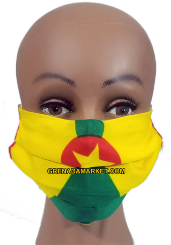 Caribbean Style Face Mask - Grenada
