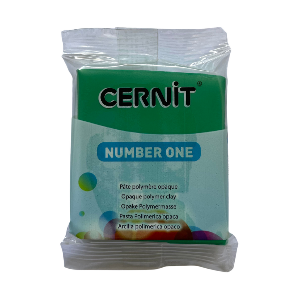 Cernit Number One 56g Green