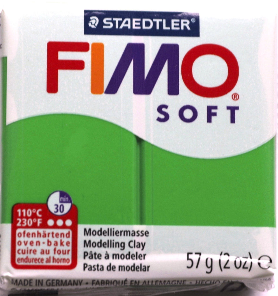 Fimo Soft 57g Clay - Tropical Green