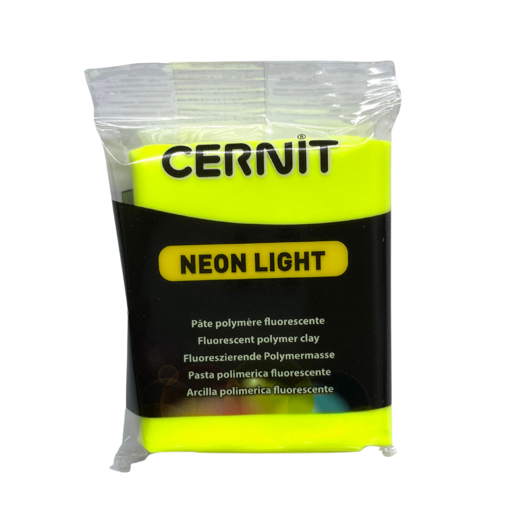Cernit Neon 56g Yellow