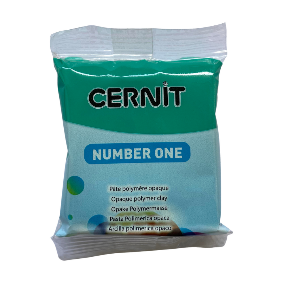 Cernit Number One 56g Emerald Green