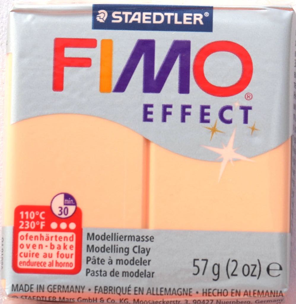 Fimo Effect 57g Clay - Peach