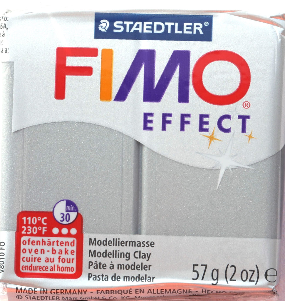 Fimo Effect 57g Clay - Silver Metallic