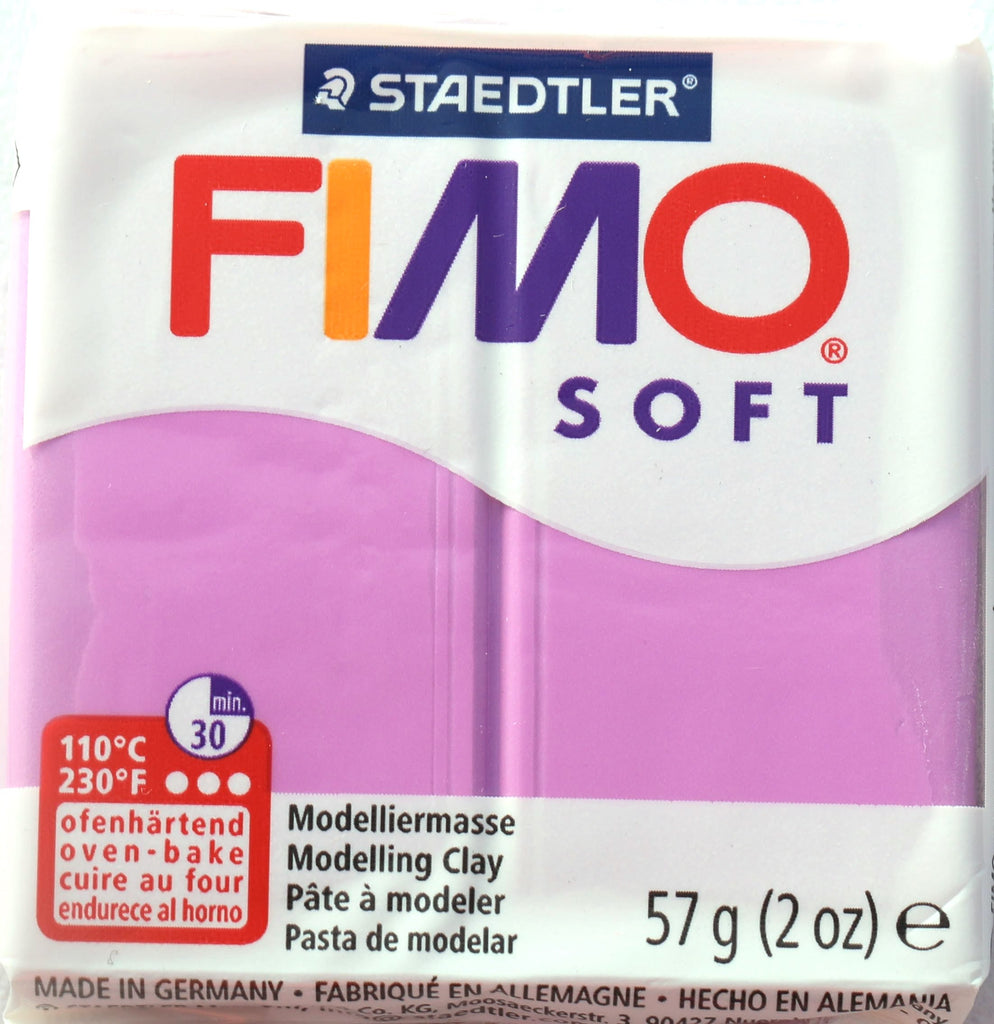 Fimo Soft 57g Clay - Lavender