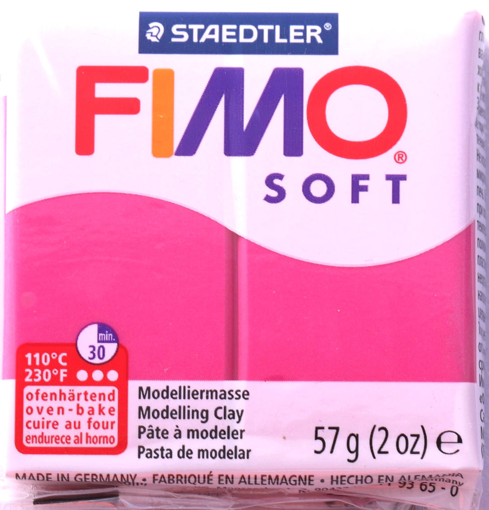 Fimo Soft 57g Clay - Raspberry