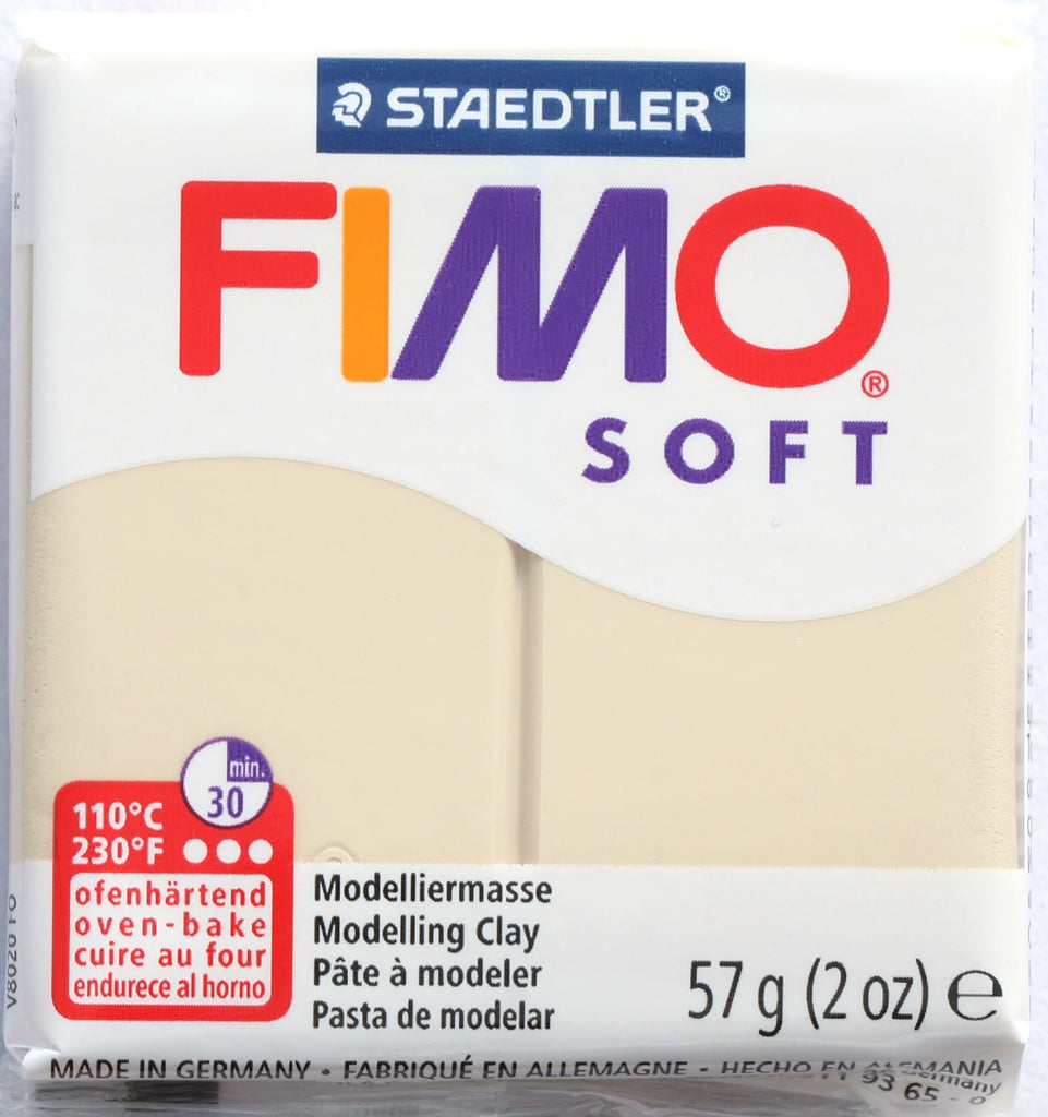 Fimo Soft 57g Clay - Sahara