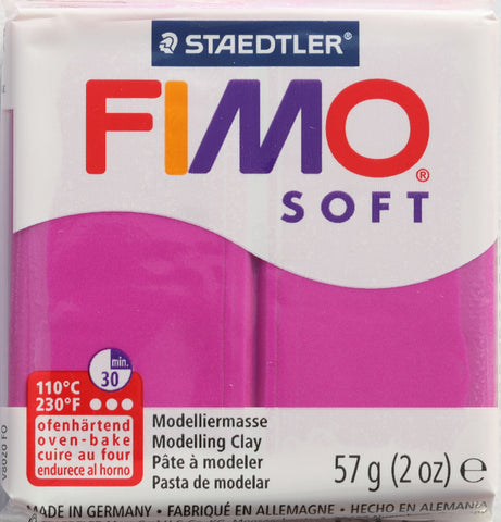 Fimo Soft 57g Clay - Violet Purple