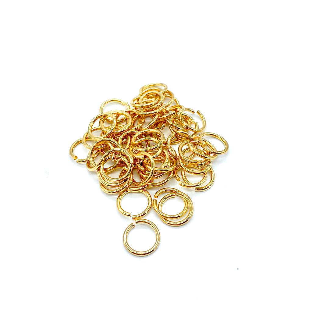 8mm Gold Stainless Steel Jump Ring