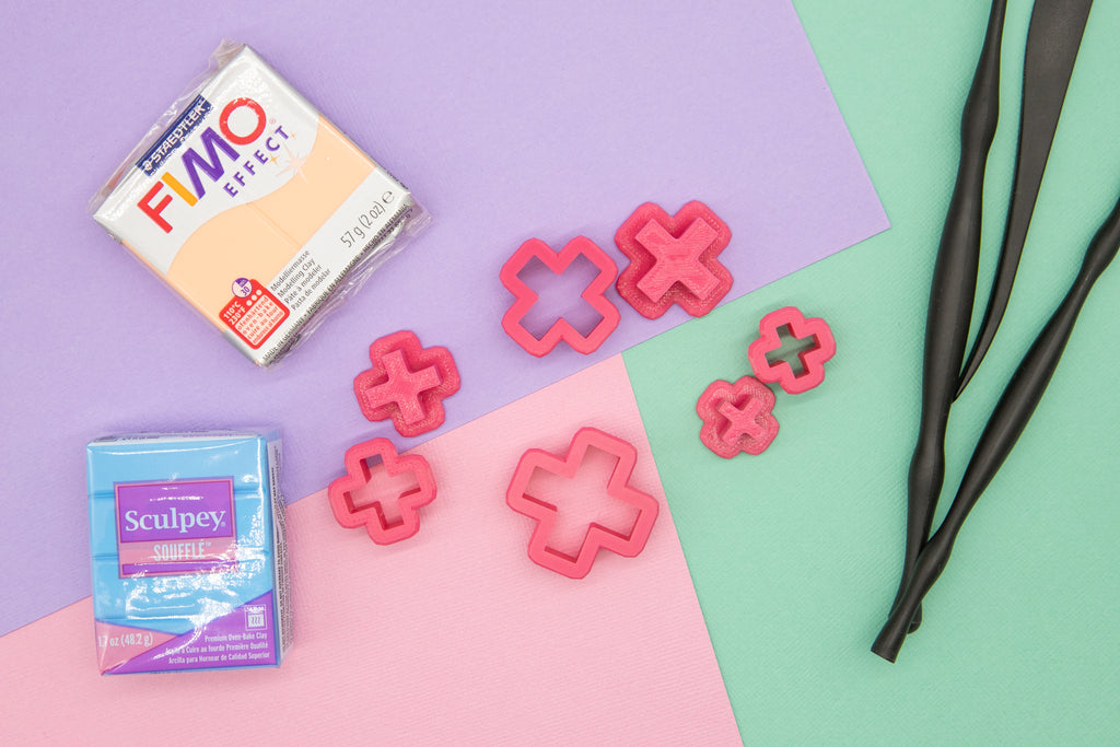 DISCONTINUING Cross Polymer Clay Cutters