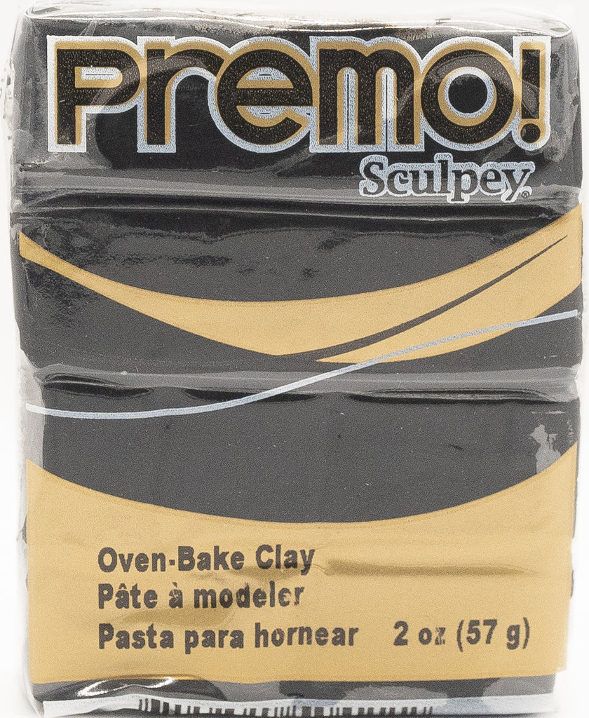 Premo Sculpey 57g Clay - Black